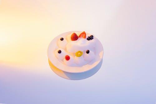 Free stock photo of blackberry, desert, dish