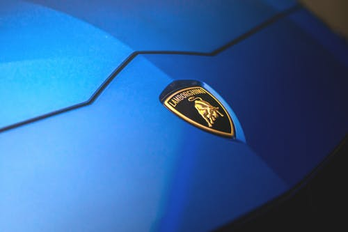 Blue and Black Ford Logo