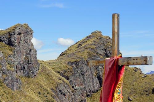 60d, 산, 속상한, 십자가의 무료 스톡 사진
