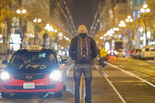 Gratis lagerfoto af by, eventyr, gade, lys
