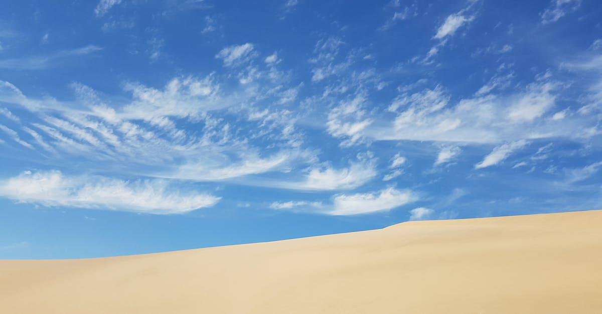пустыня и небо фотобанк рабочую подставку