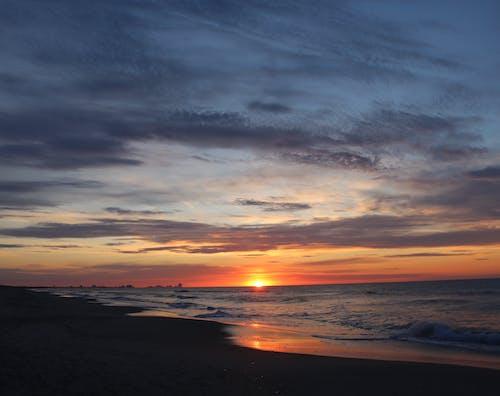 Základová fotografie zdarma na téma moře, mraky, oceán