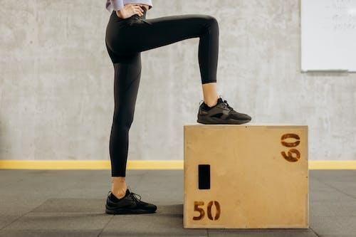 Woman Doing Feet Exercise