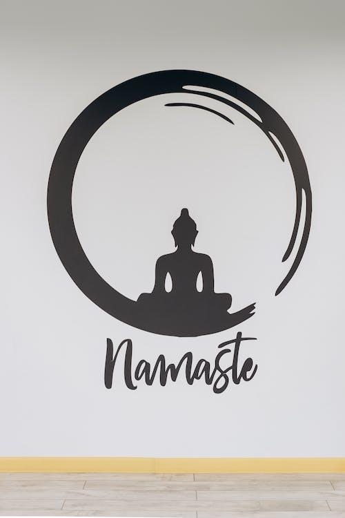 Namaste Sign On Wall