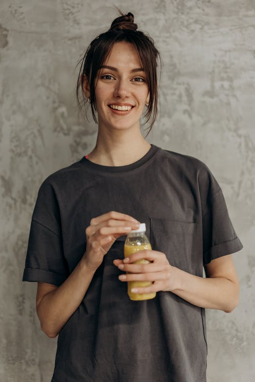 Woman With A Healthy Drink