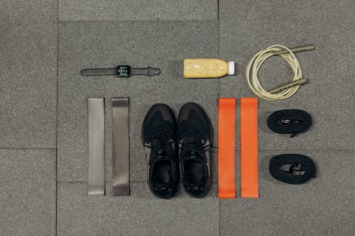 Exercise Tools On Gray Surface