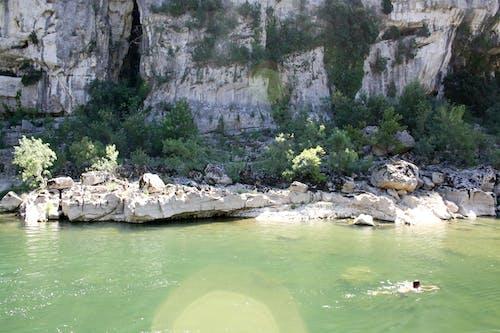 คลังภาพถ่ายฟรี ของ ardeche, การท่องเที่ยว, ทางทิศใต้, น้ำ