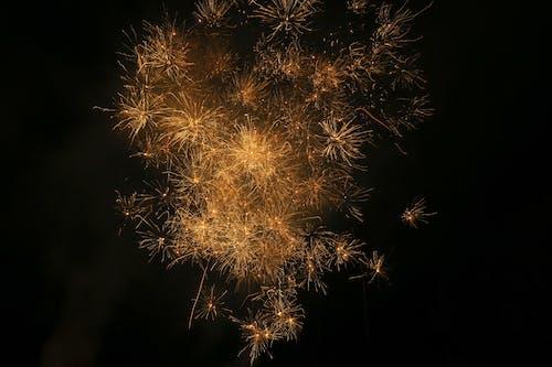 傍晚的天空, 光跡, 夜空 的 免费素材图片