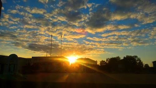 Free stock photo of clouds, cloudy sky, evening sun