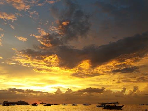 구름, 바다, 바다 경치, 뱅카의 무료 스톡 사진