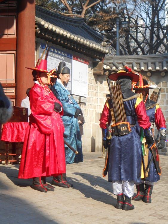 Free stock photo of changing of the guards, deoksugung palace, royal guard