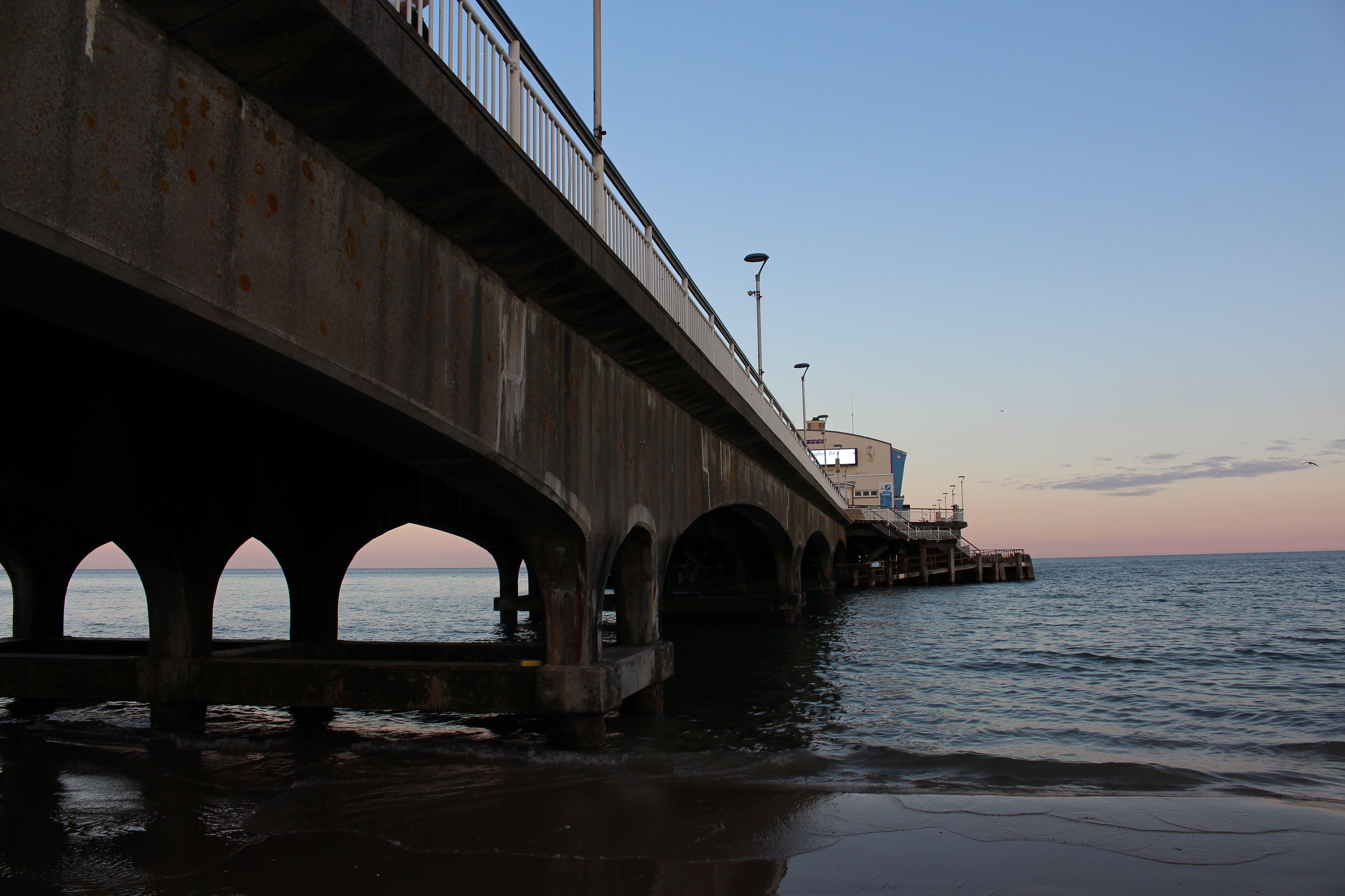 Kostenloses Stock Foto zu licht, meer, sonnenuntergang, strand