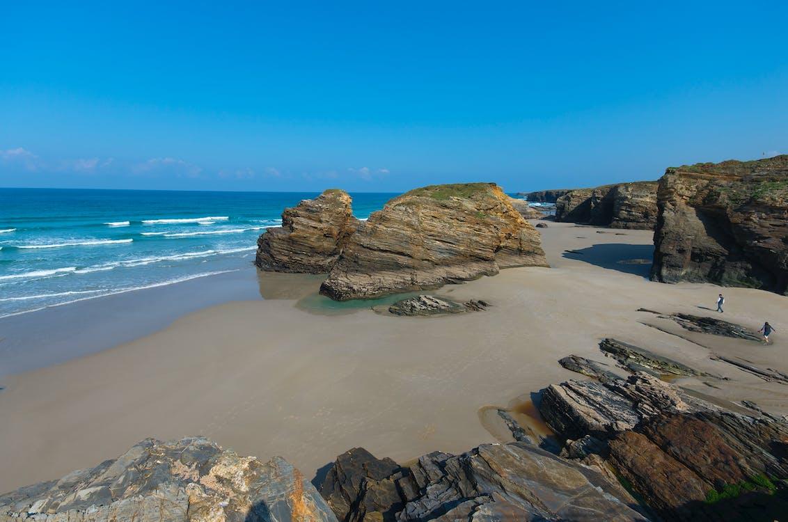 Free stock photo of beach, galicia, rocks