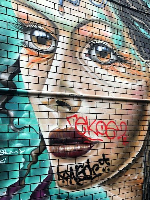 Foto profissional grátis de alvenaria, área urbana, arte
