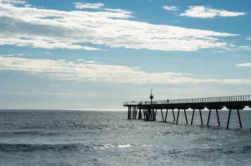 Free stock photo of beach, bridge, spain