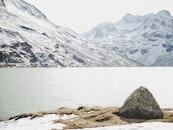 kalt, gletscher, schnee