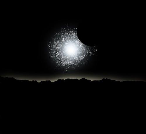 Foto d'estoc gratuïta de alba, espai, fotografies de portada de l'àlbum