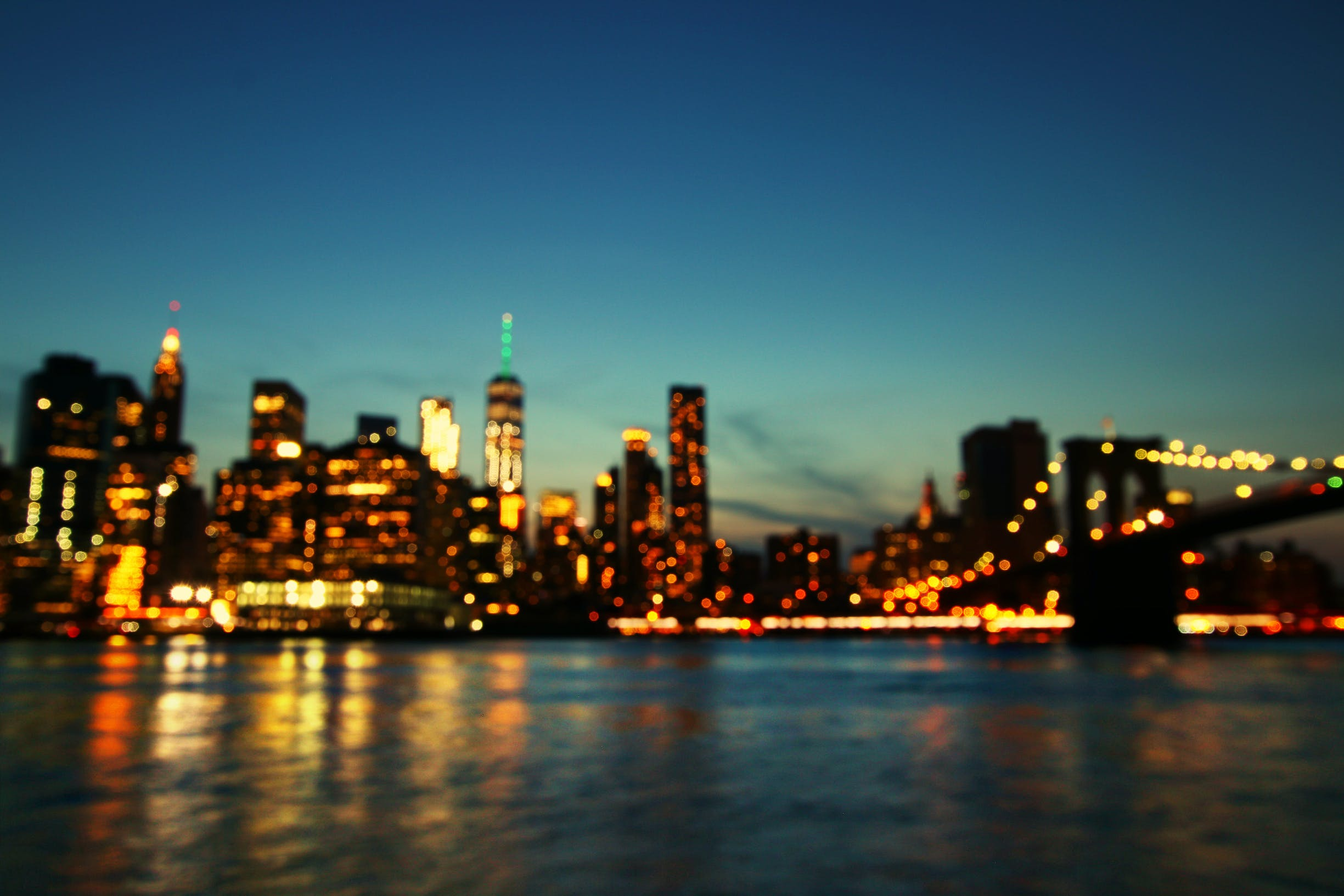 Free stock photo of america, blur, brooklyn, brooklyn bridge