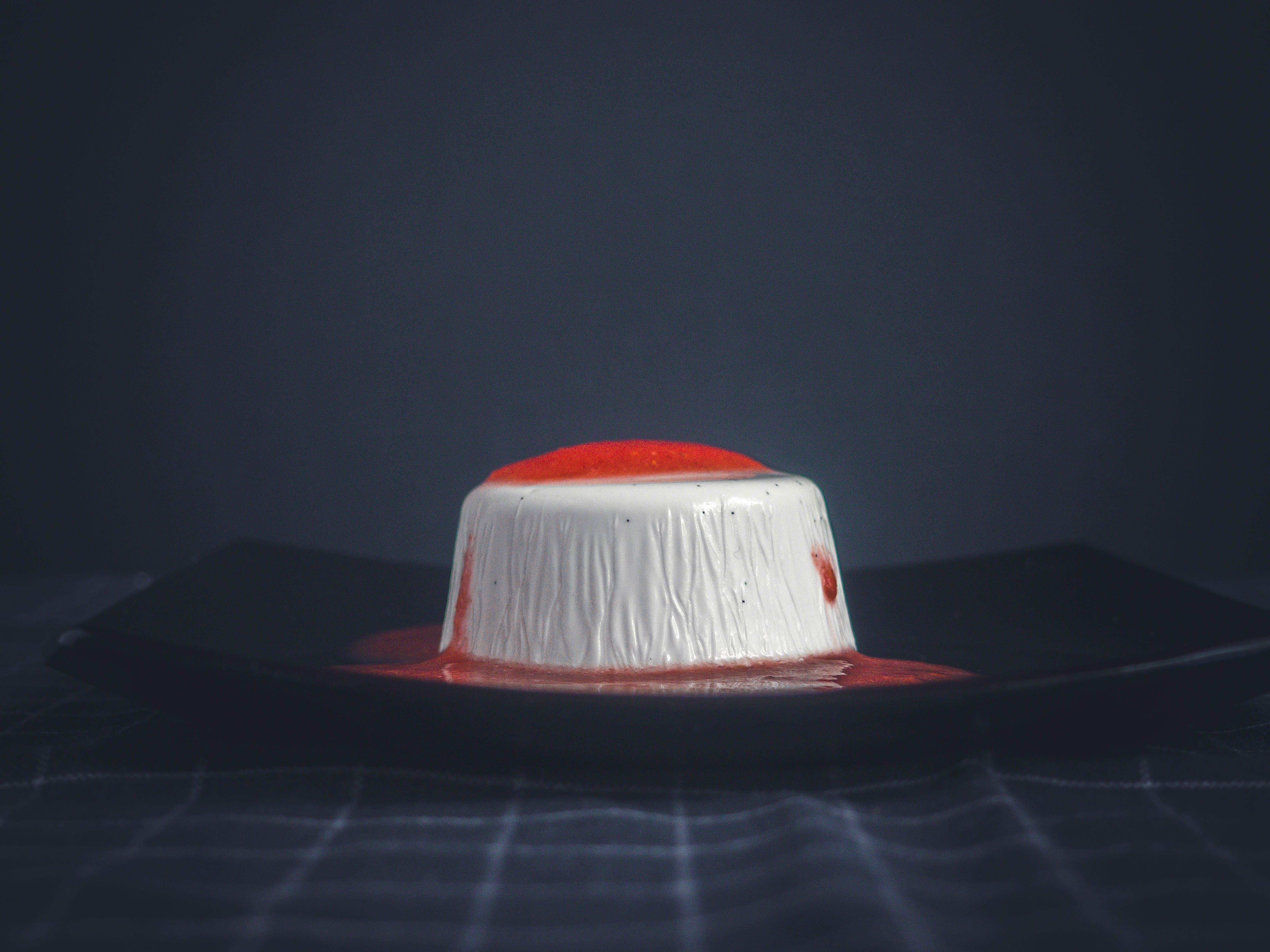 Free stock photo of background, cream, dark, dessert