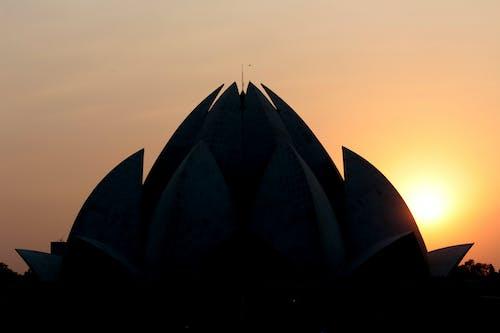 Free stock photo of delhi, india, lotus temple