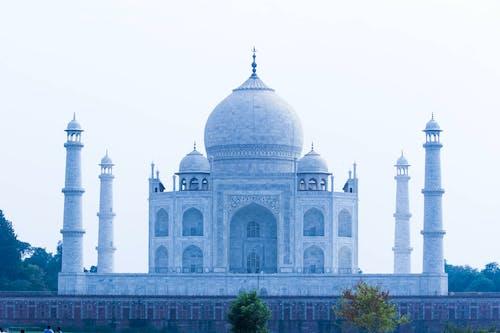 Free stock photo of india, taj mahal agra