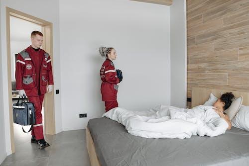 Photos gratuites de à l'intérieur, chambre, chambre à coucher