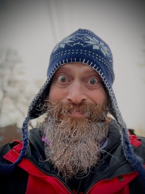 Free stock photo of beard, bearded man, frosty