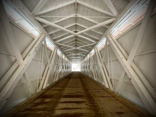Free stock photo of architecture, beams, bridge