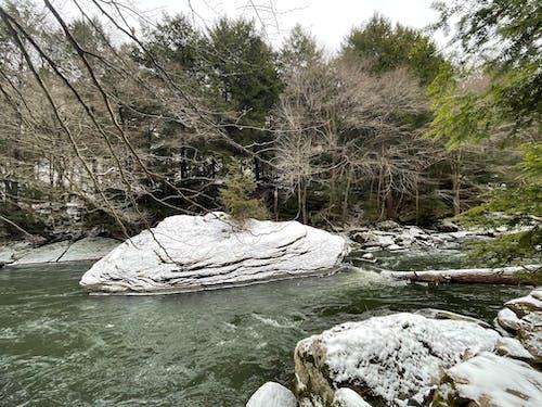 Free stock photo of big rock, creek, hiking