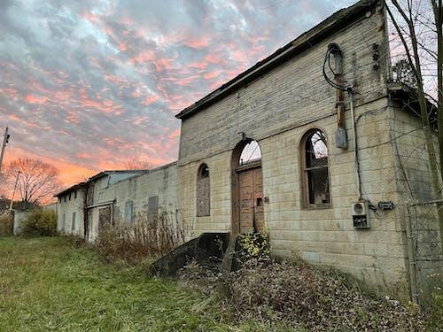 Free stock photo of abandoned, abandoned building, early sunrise