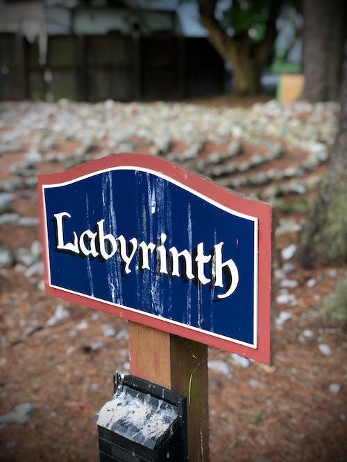 Free stock photo of labyrinth, sign, spiritual