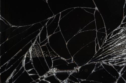 Close-Up Photo of Broken Mirror