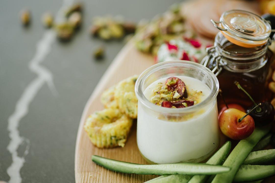 一部分, 健康食品, 優酪乳 的 免費圖庫相片