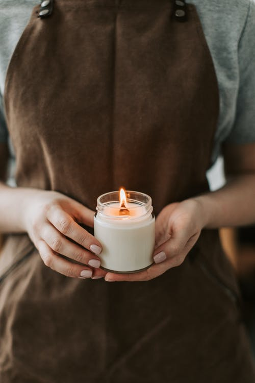 Free stock photo of adult, breakfast, candle