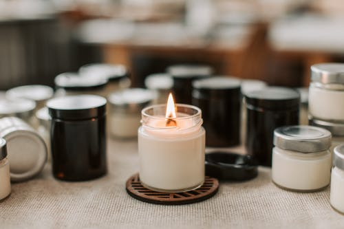 Free stock photo of aromatherapy, breakfast, candle