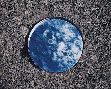 Free stock photo of sky, mirror