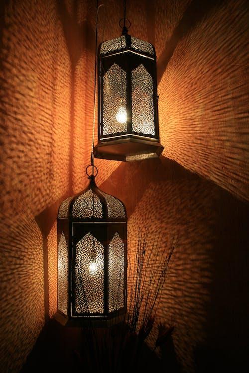 Kostenloses Stock Foto zu beleuchtung, lampen, laternen, lichter