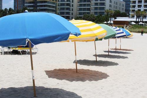 Güneş, ısı, mavi, miami içeren Ücretsiz stok fotoğraf