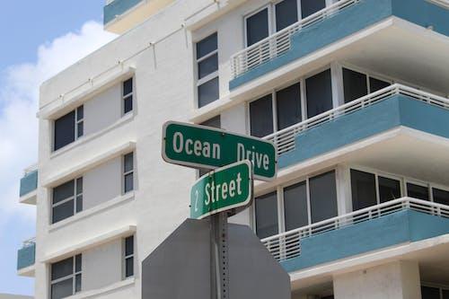 Kostenloses Stock Foto zu gebäude außen, miami, ocean drive, stadt