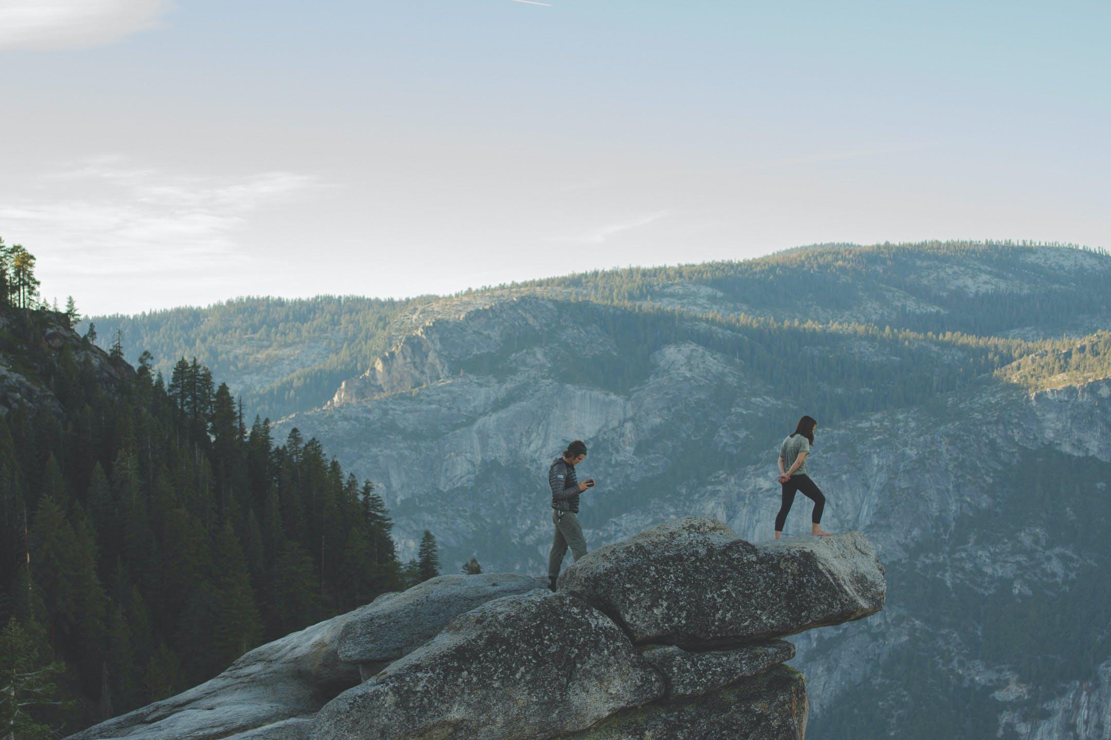 Základová fotografie zdarma na téma denní světlo, dobrodružství, fotka zvysokého úhlu, hora