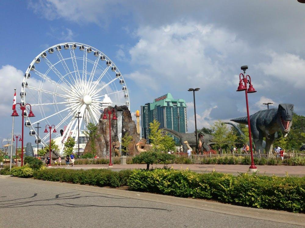 ferris wheel, Niagara Falls
