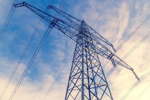 Free stock photo of electricity, high voltage, power lines