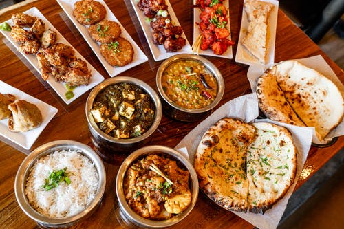 Free stock photo of food, indian food