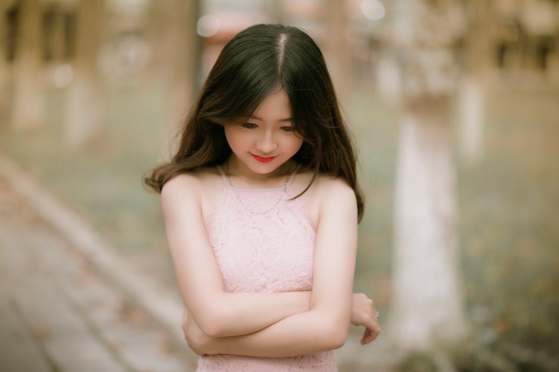 barn, close-up, dejligt