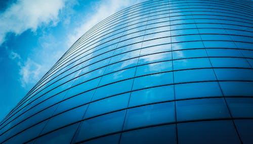 Ingyenes stockfotó ablakok, acél, alacsony szögű felvétel, alacsony szögű fényképezés témában