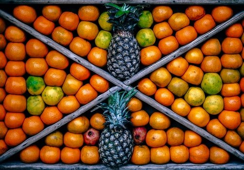 Top View Photography of Fruits