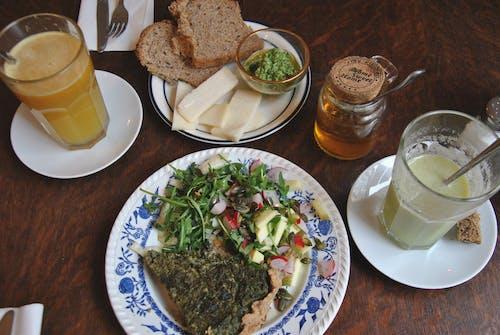 Kostnadsfri bild av bröd, grönsaker, hälsosam