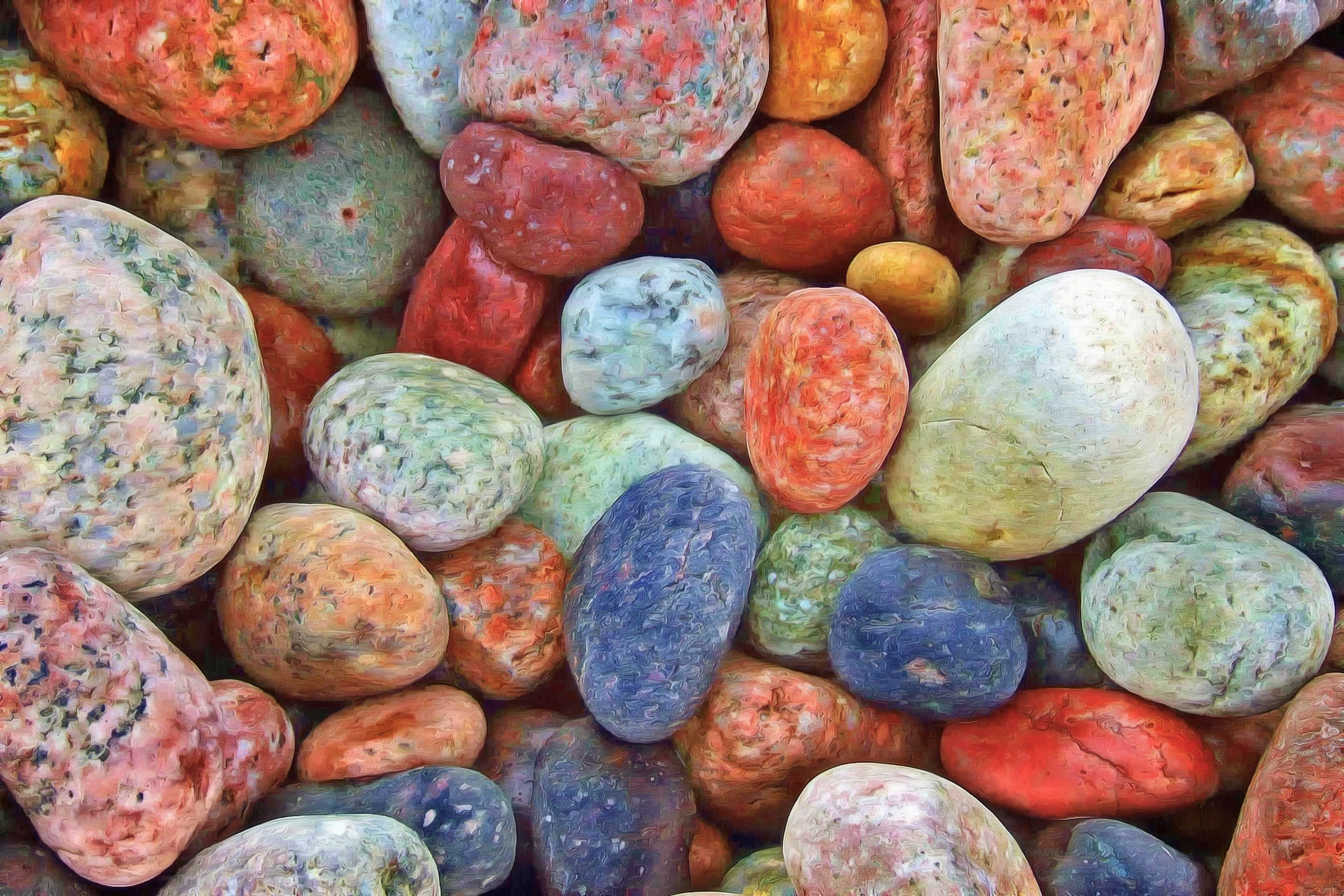 Free stock photo of rocks, stones, colorful, strength