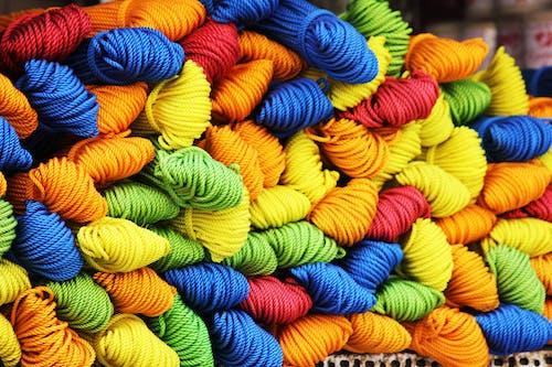 Kostnadsfri bild av färgrik, fibrer, garn, kreativ