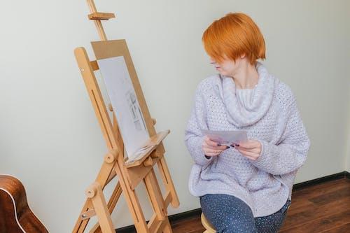 คลังภาพถ่ายฟรี ของ กระดาษ, กลางวัน, การทาสี